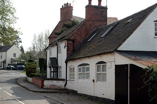 The Forge, once a smithy, now a private residence in Blacksmiths Lane (Where else?)